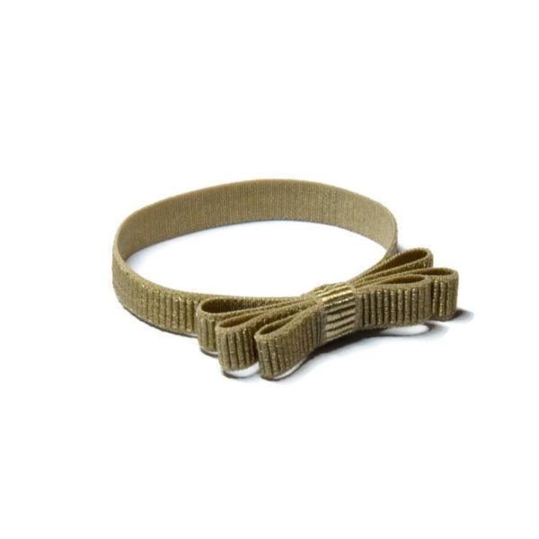 bransoletka na elastycznej wstążce